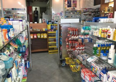 inside Maho Pharmacy St Maarten